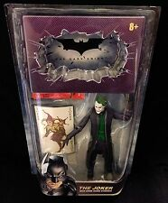 BATMAN The Dark Knight The Joker with Crime Scene Evidence Movie Masters Mattel