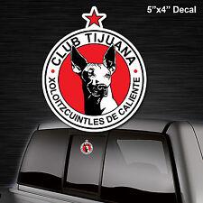 Club Xolos de Tijuana decal sticker liga mexicana  die cut