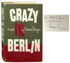 Thomas Berger / Crazy in Berlin Signed 1st Edition 1958