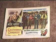 CALIFORNIA CONQUEST 1952 LOBBY CARD #2