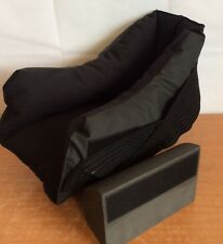 Foot Protector Ankle & Heel Cushion Black Universal Conform DEROYAL One Size