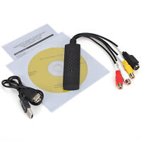 EasyCap USB2.0 Video Audio VCR VHS To DVD Converter Capture Adapter XP/Win7