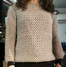 Maglia donna grigia sweater villasor Taglia L