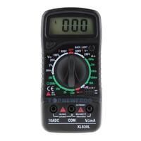 Digital LCD Multimeter Voltmeter Ammeter AC/DC/OHM Volt Tester Current Test TN2F