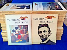 48 Volumes (1963-70) AMERICAN HERITAGE BOOKS COLLECTION Rare Vintage History Lot