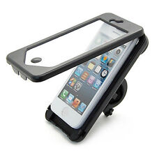 Waterproof Bike Bicycle Handlebar Mount Holder Case Cover for Apple iPhone 5S SE