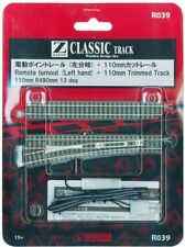 Rokuhan Z gauge R039 110mm point rail left branch 1 bottles (1 with this 11