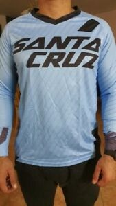 Cycling Jersey men Long Sleeve Motorcross Mountains Bike Santa Cruz Downhill