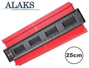 ALAKS Konturenlehre 250mm Vervielfältigungslehre Profillehre Profilschablone