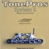 TonePros NVR2-C Chevalet Vintage fits Nashville ABR-narrow Tune-O-Matic Bridge C