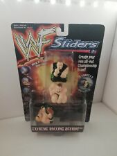 Hasbro WWF Sliders Extreme rolling Action Wresting Figure Very Rare