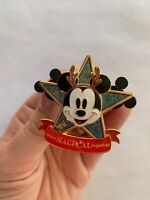 DS Mickey Holiday Christmas Disney Pin- More Magical Together-125241-Grt Cond.!