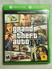 Grand Theft Auto IV  xbox One and xbox360 disc (Microsoft Xbox 360, 2017)