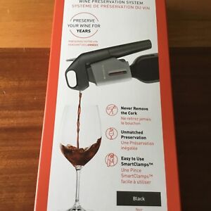 CORAVIN Model Three WINE PRESERVATION SYSTEM NEW DECANTADOR VINO NUEVO
