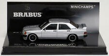 Minichamps 1989 MERCEDES BENZ 190E 3.6 S BRABUS SILVER 1:43 New Item!