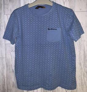 Boys Age 12-13 Years - Ben Sherman T Shirt Top