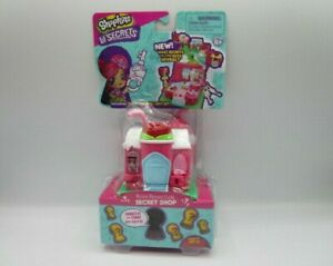 Shopkins Lil Secrets Secret Shop: Rosey Bloom Cafe Mini Playset Brand New