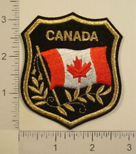 CANADA FLAG Shield Embroidered Travel Souvenir PATCH