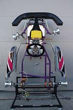 HAASE Junior Racing Go Kart Chassis, KT100 Yamaha, Rotax, Komet, Briggs LO206
