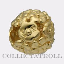 Authentic Trollbead 18kt Gold Bouquet Trollbeads  21811