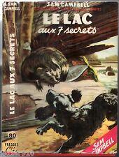 CAPTAIN W.E JOHNS # SAM CAMPBELL # LE LAC AUX 7 SECRETS # JAQUETTE
