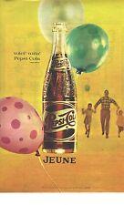 PUBLICITE ADVERTISING  1961   PEPSI COLA  soda voila, voila....