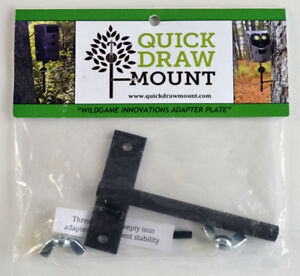Quick Draw Trail Cam Mount Wild Game Innovations Adapter Plate            (1188)