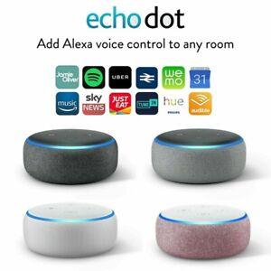 Amazon Echo Dot (3. Generation) Sprachgesteuerter  Smart Speaker mit Alexa