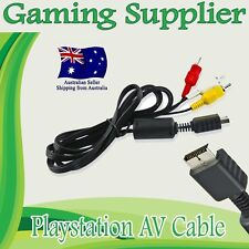 RCA to AV Audio & Video Cable Cord for SONY Playstation 1 2 3 PS1 PS2 PS3