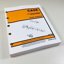J I Case Davis 304 404 Trencher 304 Special Parts Manual Catalog