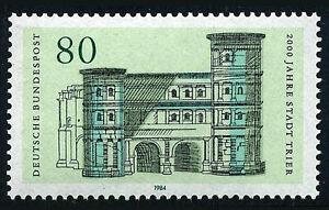 Germany 1409, MNH. Trier, 2000th anniv. Black Gate, 175 A.D. 1984
