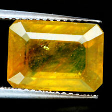 TOP SAPPHIRE : 6,15 Ct Natürlicher Lemon Gelb Saphir aus Madagaskar