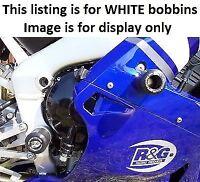 R&G RACING Crash Protectors - Yamaha YZF-R1 2000-2001 **WHITE**
