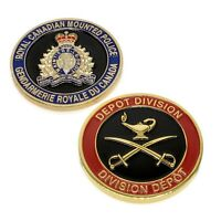 RCMP Police Challenge Coin Depot Training Division Royal Canadian Mounted Police
