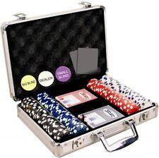 Da Vinci 200 Dice Stripe Poker Chip Set