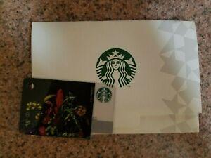 Starbucks Japan 2016 Fragment Mini Gift Card -- Botanical US Seller