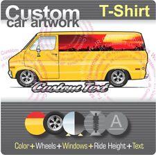 Custom T-shirt 1971-78 Dodge B-100 series Sportsman Van Fargo Street Tradesman