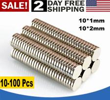 Mini Fridge Magnets Rare Earth New Usa 10 100x Super Strong N35 Round Neodymium