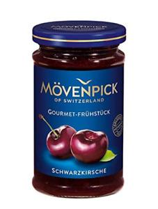 6 Gläser Mövenpick │ Schwarzkirsche Gourmet-Frühstück Fruchtaufstrich 1,5kg