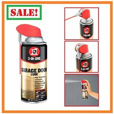 3 In 1 Spray Lubricant Lube Grease For Garage Door Tracks Springs Rollers Hinges