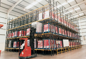 Pallet Racking Live Storage System 330 Pallet Spaces FIFO 08001120013