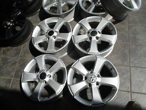 Original VW Touran, Golf V/VI, Caddy Felgensatz in 6Jx16 ET50 5x112mm 1T4071496C