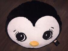 H&M Pinguin Vogel Kissen Schwarz Weiß Gelb Kuscheltier Plüschtier Nicky Stofftie