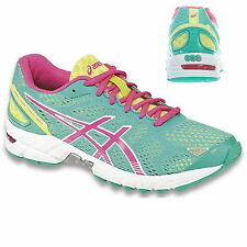 ASICS Gel-Ds Trainer 19 Damen Women T455N-7035 Running Sneaker Emerald/Hot Pink