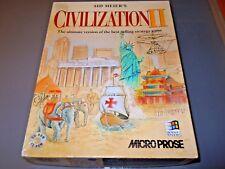 De Sid Meier Civilisation II Pc 1999 - Original Ru Gros Coffret + Fantastic