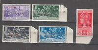 S36296 Eritrea 1930 MNH Ferrucci Saxon 165/69 5v