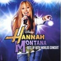 "HANNAH MONTANA (MILEY CYRUS) ""LIVE"" CD+DVD NEW+"
