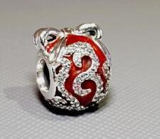 AUTHENTIC 😍 PANDORA 😍 silver CHARM bead Bright Ornament Christmas 796259EN07