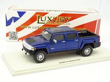 Luxury Collectibles 1/43 - Hummer H3T Pick Up 2008 Bleu