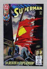 New ListingSuperman #75 Comic Book Death Of Superman Death Of Doomsday